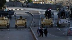 Hundreds Protest Egypt Violence In