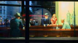 Le célèbre tableau de Hopper reproduit grandeur nature à New
