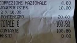 A piazza cento euro per quattro caffè e tre amari