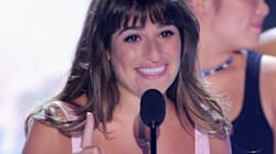 Lea Michele's Glam Beauty