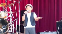 WATCH: 7-Year-Old Sings For