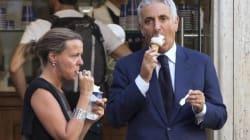 Per i ministri Lorenzin e Quagliariello un bel gelato alla vigila di Arcore