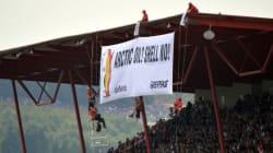 Greenpeace proteste contre Shell au GP de