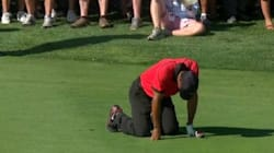 Tiger Woods terrassé par la douleur pendant son
