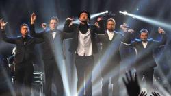 *NSYNC Celebrate Justin Timberlake's Solo