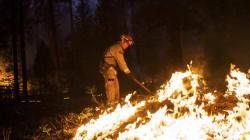L'impressionnant incendie du parc américain Yosemite en cinq