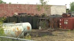 Québec confirme l'entreposage illégal de matières contaminées à