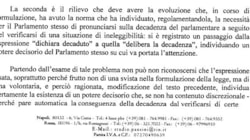 I giuristi pro-Silvio citano