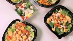 Les salades des fast food, pas aussi santé qu'on