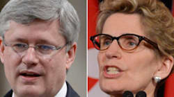Wynne Hopes Harper Doesn't Have A 'Vendetta' Against