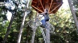 Un moyen ingénieux de grimper dans une