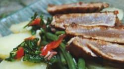 La recette du week-end: salade de pommes de terre tiède au thon façon