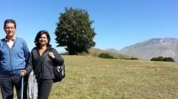 La Boldrini va in montagna... con la kefia