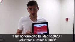 De la portería del Real Madrid a voluntario