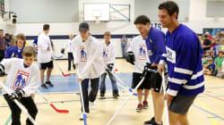 WATCH: Flood-Stricken Kids Get NHL-Size