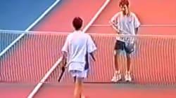 La vidéo de Gasquet qui bat Nadal (mais ils avaient 13