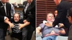 WATCH: City Council Meeting Turns Into Brawl In