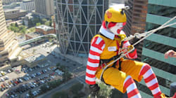 LOOK: What Is Ronald McDonald Doing Up So