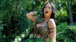 Katy Perry joue à Tarzan et détrône Blurred