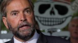 Mulcair: NDP Will Run Negative Ads Against Trudeau