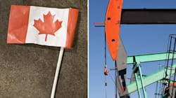 LOOK: Soiled Canadian Flag At Alberta Oil Rig Sparks