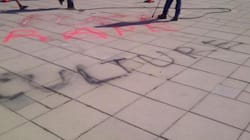 LOOK: Graffiti Talks Rape Culture At