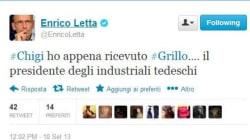 Letta scherza su Twitter: