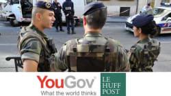 EXCLUSIF - 57% des Français sont pour l'intervention de l'armée à