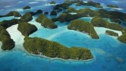 Isole del Pacifico con l'acqua alla gola