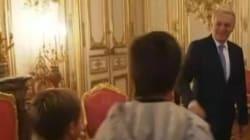 Un enfant à Ayrault sur Matignon: