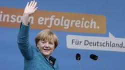 Législatives allemandes: Merkel remporte une victoire cruciale en