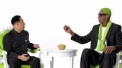 Que fait Rodman avec Kim Jong-un et des pistaches
