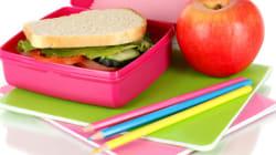 La boîte à lunch: un des défis de la rentrée