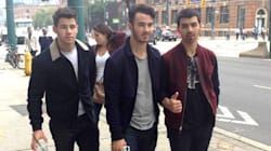#WeDay On Twitter: Jonas Brothers Caught Roaming Free In