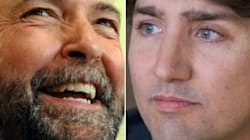 Where Mulcair's Back On