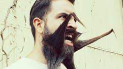 Una barba incredibile conquista il web