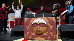 B.C.'s Strong Gesture Of
