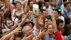 À la Fête de la bière de Munich, la politique entre