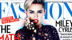 Miley's Magazine Cover Is