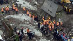 Le bilan de l'effondrement d'un immeuble à Bombay atteint 45