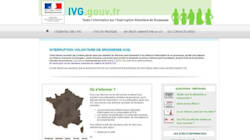 IVG: le gouvernement lance son offensive sur les sites