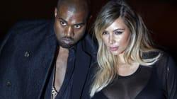Kim Kardashian tout sourire à la Fashion Week de