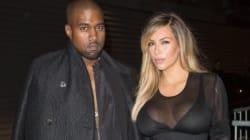 Kim And Kanye Hit Up Paris Fashion