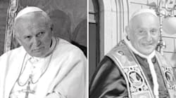 Roncalli e Wojtyla: i due volti del pontificato di Papa Francesco
