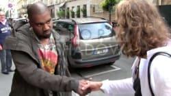 À Paris, Kanye West rencontre enfin quelqu'un qui ne le connaît