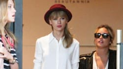 Is Taylor Wearing A Shirt Or A