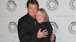 Nathan Fillion Gets Cozy With An Older