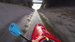 WATCH: Extreme Kayak