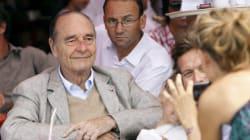 Jacques Chirac à Saint-Tropez, le