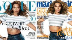 Vogue UK e Marie Claire Australia hanno la stessa copertina di Beyonce!